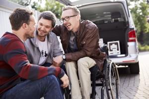 """Für den Großteil der Deutschen spielt eine Behinderung in einer Freundschaft keine Rolle. Zu diesem Ergebnis kommt eine repräsentative Umfrage der Aktion Mensch zum internationalen Tag der Freundschaft am 30. Juli. Quelle: """"obs / Aktion Mensch / Aktion Mensch / Per Kasch"""""""
